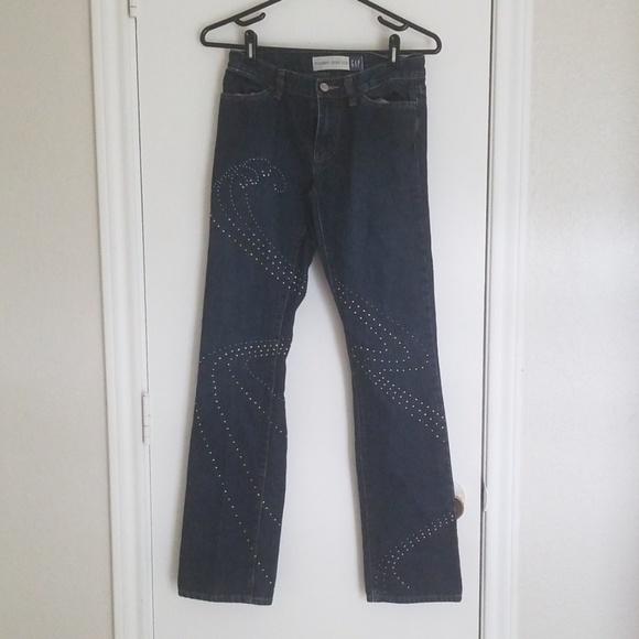 GAP Denim - Gap Modern Boot Cut Jeans Sz 1 w/ Grommets